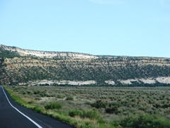 From U.S. Highway 160 South, Black Mesa looms into view - Click for larger image (http://jamesmcgillis.com)