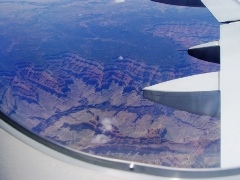 The Grand Canyon, taken from above - Click for larger image (http://jamesmcgillis.com)