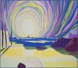 Dave Brubeck's Chromatic Sun Sonata Album Cover - Click for alternative image. (https://jamesmcgillis.com)