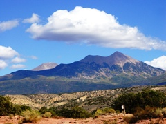 The La Sal Range, as seen from Behind The Rocks, Moab, Utah - Click for larger image (http://jamesmcgillis.com)