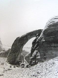 Partial view, Rainbow Natural Bridge, Southeastern Utah - Click for larger image (https://jamesmcgillis.com)