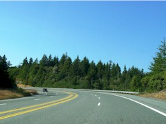 U.S. Highway 101, The Redwood Highway - Click for larger image. (http://jamesmcgillis.com)