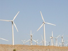 Wind turbines in the Banning Pass, near Palm Springs, CA - Click for larger image (http://jamesmcgillis.com)