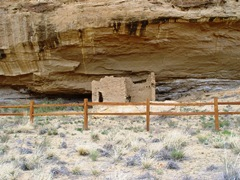 Chacoan rock house at Gallo Campground, Chaco Canyon, NM - Click for larger image (http://jamesmcgillis.com)
