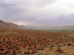 Regional Dust Storm hits Moab UMTRA and the Spanish Valley at Moab Utah in May 2011 - Click for larger image (https://jamesmcgillis.com)