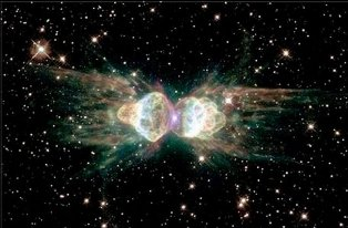 Hubble Telescope image of ascended beings, melding energy bodies - Click for larger image (https://jamesmcgillis.com)