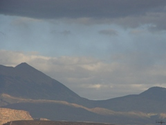 Afternoon rain over the La Sal Mountains, Moab, UT - Click for larger image (http://jamesmcgillis.com)