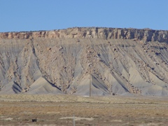 The Book Cliffs, near Crescent Junction and Brendel, Utah - Click for larger image (http://jamesmcgillis.com)