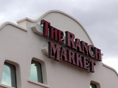 Victim of a slow economy - Now closed - The Ranch Market in old Mesquite, Nevada - Click for larger image (http://jamesmcgillis.com)