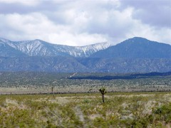 The North slope of the San Gabriel Mountains, as seen from the Pearblossom Highway on May 18, 2011 - Click for larger image (http://jamesmcgillis.com)