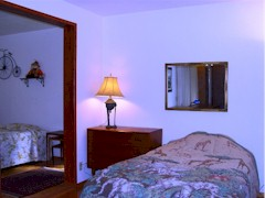 Large master bedroom of single family home for sale, Port Orford, Oregon - Click for larger image (http://jamesmcgillis.com)