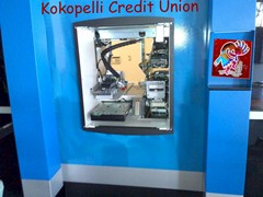 Installation of the new ATM, prior to mounting the fascia - Click for larger image (http://jamesmcgillis.com)
