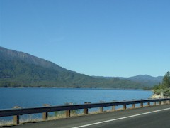 Whiskeytown Lake, from CA Highway 299 - Click for larger image (http://jamesmcgillis.com)