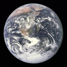 Gaia, Planet Earth, from Space - Click for larger image. (https://jamesmcgillis.com)