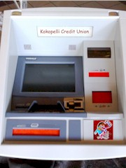 Fascia for a new Diebold Automated Teller Machine (ATM), prior to final installation - Click for larger image (http://jamesmcgillis.com)