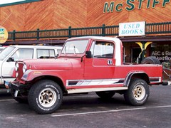 Early 1980's Jeep CJ-8 Scrambler parked in Moab, Utah - Click for larger image (http://jamesmcgillis.com)
