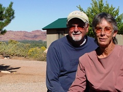 Jim & Sue Farrel are the owners of the Moab Rim Campark & Cabins, Moab, Utah - Click for larger image (http://jamesmcgillis.com)