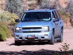 Two sales reps out for a joyride at Seven Mile Canyon, Moab, Utah 2008 - Click for larger image (http://jamesmcgillis.com)