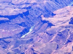 Aerial view of the Grand Canyon, which is the source for Arizona's Central Arizona Project (CAP) water delivery system - Click for larger image (http://jamesmcgillis.com)