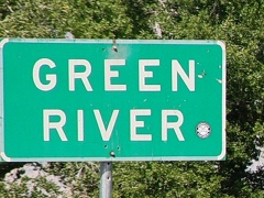 City of Green River, Utah highway sign - Click for larger image (http://jamesmcgillis.com)