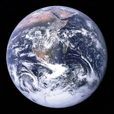"The ""Blue Marble"", Planet Earth, from space - click for larger image (http://jamesmcgillis.com)"