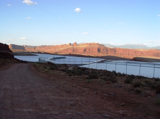 Settling ponds at Potash, above the Colorado River - Click for larger image (https://jamesmcgillis.com)