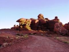 Hoodoos along the lower Shafer Trail, Moab, Utah - Click for larger image (https://jamesmcgillis.com)