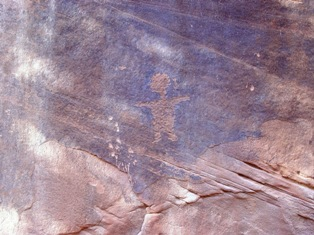 "Petroglyph of a ""little person"" - Click for larger image. (http://jamesmcgillis.com)"