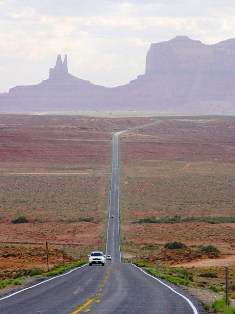 U.S. Hwy. 161 South, approaching Monument Valley, Utah - Click for larger image (http://jamesmcgillis.com)