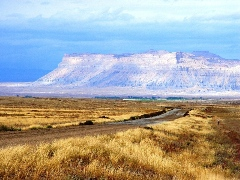 View Northwest from Old US 6 & 50 to the Book Cliffs near Green River, UT - Click for larger image (http://jamesmcgillis.com)