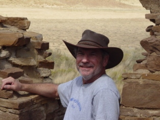 Author Jim McGillis,  while traveling in the High Southwest, Colorado Plateau - Click for larger image (http://jamesmcgillis.com)