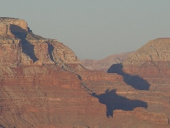 This 2006 photo of the Grand Canyon shows persistent haze caused by coal-fired power plants in the Four Corners region - Click for larger image (http://jamesmcgillis.com)