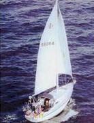 Islander 34, sister ship to Paul Geraghty's Southern Run - Click for larger image (http://jamesmcgillis.com)