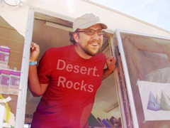 Justin Dietrick of legendary Yonder Mountain Sandwiches at Desert.Rocks 2011 - Click for larger imaqge (http://jamesmcgillis.com)