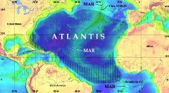 The Atlantic Ocean (Atlantis Mar) - original site of the Lost City of Atlantis - Click for larger image (http://jamesmcgillis.com)
