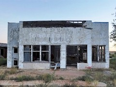 This abandoned storefront once served as a grocery store in Thompson Springs, Utah - Click for larger image (http://jamesmcgillis.com)