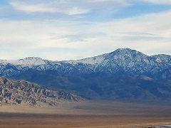 An afternoon view of the Panamint Range, from Towne Pass shows at least five distinct geologic layers - Click for larger image (https://jamesmcgillis.com)