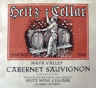 Heitz Wine Cellars 1966 Napa Valley Cabernet Sauvignon - Click for larger image (http://jamesmcgillis.com)