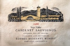 Robert Mondavi Winery 1966 Napa Valley Cabernet Sauvignon - The Holy Grail of California vintage varietal wines - Click for larger image (http://jamesmcgillis.com)