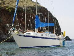 WindSong, our 1970 Ericson 35 sailboat is powered by a Universal 3-cylindar diesel engine - Click for larger image (http://jamesmcgillic.com)