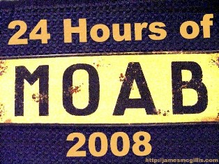 24-Hours of Moab Sign, 2008 Off-Road Logo - Click for larger image (http://jamesmcgillis.com)