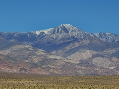 Snow-capped Telescope Peak, as viewed from the Panamint Valley, Death Valley National Park - Click for larger image (http://jamesmcgillis.com)