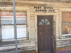 The Post Office at Darwin, California was first established in 1875 - Click for larger image (http://jamesmcgillis.com)