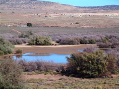 In October 2013, Red Lake at Tonalea, Arizona looked much like it did 100 years prior, when Zane Grey wrote about the place - Click for larger image (http://jamesmcgillis.com)