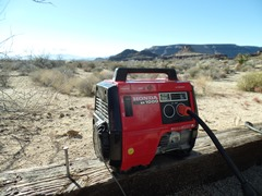 After a cold night in the Mojave Desert, my Honda EX1000 generator failed to start - Click for larger image (http://jamesmcgillis.com)