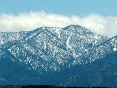 San Gabriel Mountains, looking south from the Pearblossom Highway, CA-138E - Click for larger image (http://jamesmcgillis.com)