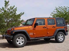 Jeep Wrangler Limited, in Mango-Tango paint - Click for larger image (http://jamesmcgillis.com)