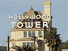 The original 1929 Hollywood Tower Apartments, listed in the National Register of Historical Places - Click for larger image (http://jamesmcgillis.com)