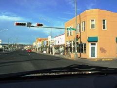 Highway 66 at Second Street, Gallup, New Mexico - Click for larger image (http://jamesmcgillis.com)