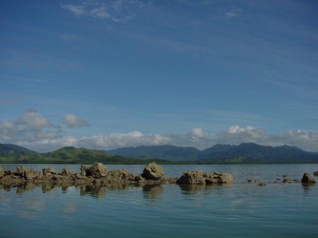 Dredging of Old Coral for a boat channel, Natewa Bay, Vanua Levu, Fiji Islands - Click for larger image (https://jamesmcgillis.com)